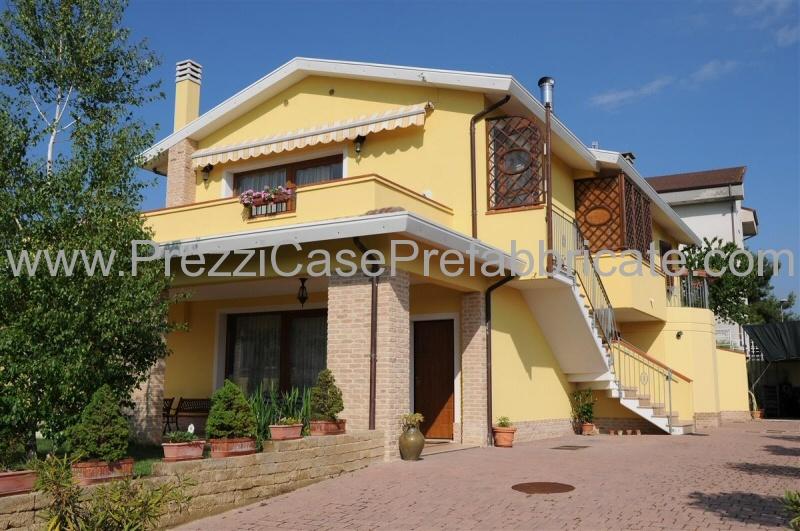 Casa prefabbricata provincia di ancona cantieri case for Case prefabbricate in cemento prezzi