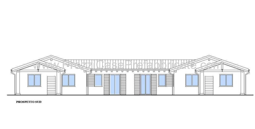 Case in prefabbricate costruzione legno prefabbricata for Piani di casa artigiano del sud vivente