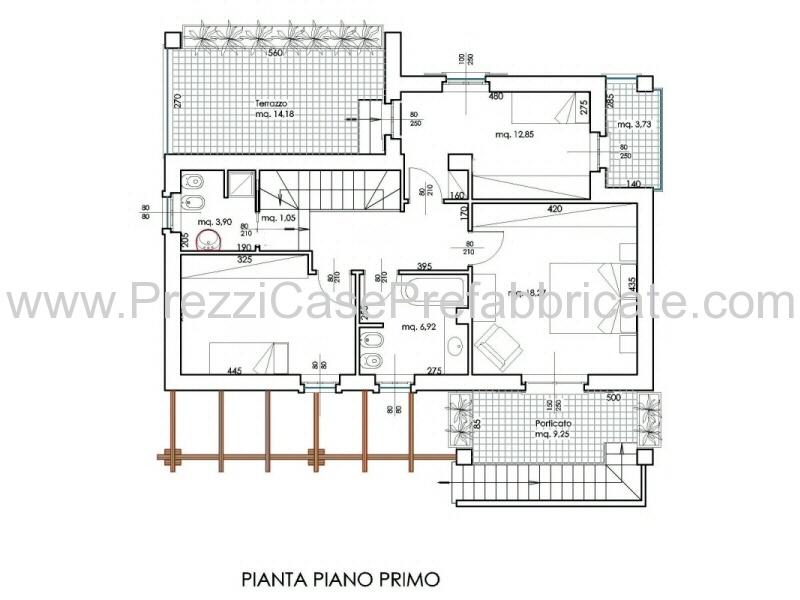 Ville prefabbricate casalegno casaclima casa passiva for Case su un piano progetti