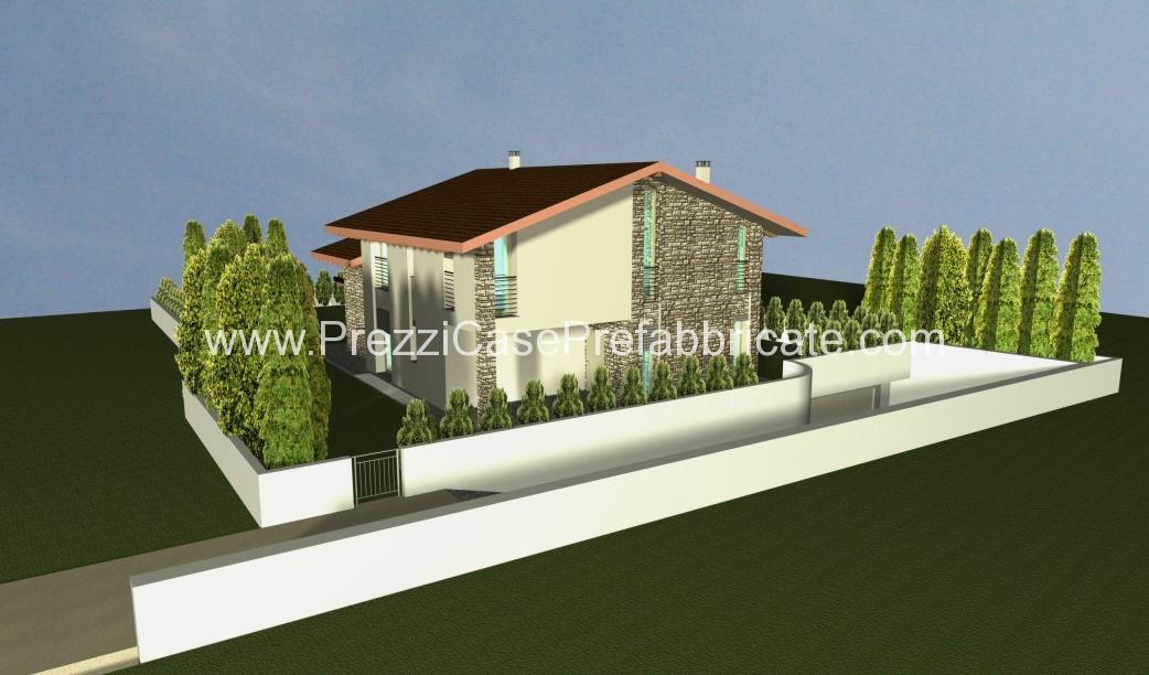 Prefabbricate case in legno coperture casa prefabbricata for Moderna casa a 2 piani