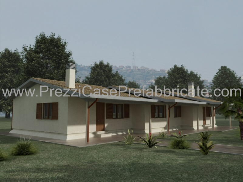 Case prefabbricate in cemento armato modello rc120 for Case prefabbricate antisismiche cemento armato