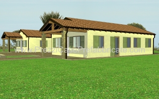 Case legno case prefabbricate for Villa prefabbricata prezzi