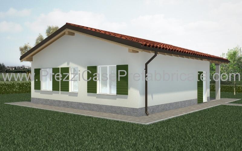 Case in legno prefabbricate in muratura for Listino prezzi case prefabbricate