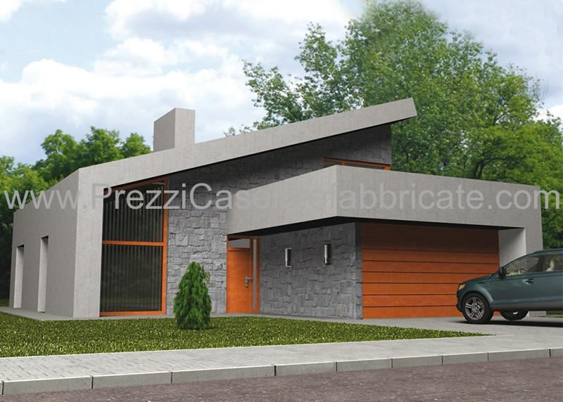 Case prefabbricate acciaio for Case con garage enormi