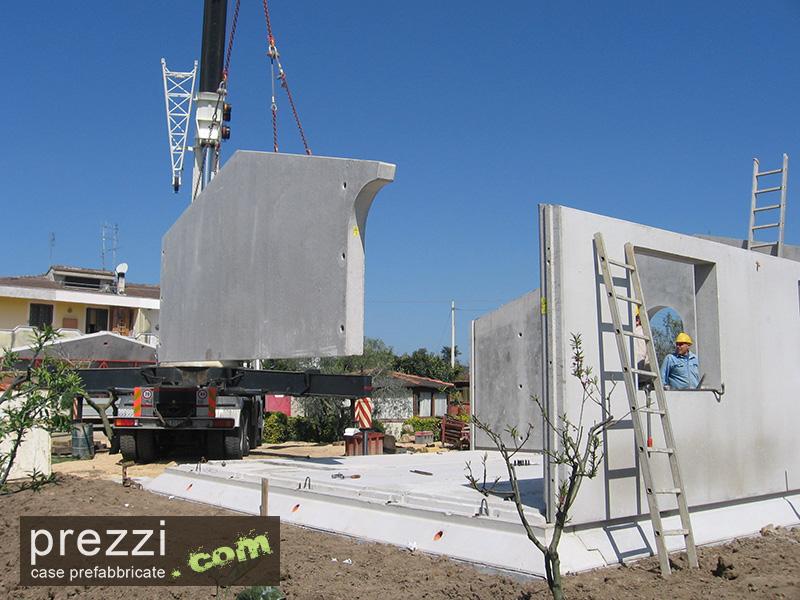 Case prefabbricate acciaio for Case prefabbricate in cemento prezzi