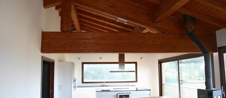 suite prefabbricata in legno interni4 sl