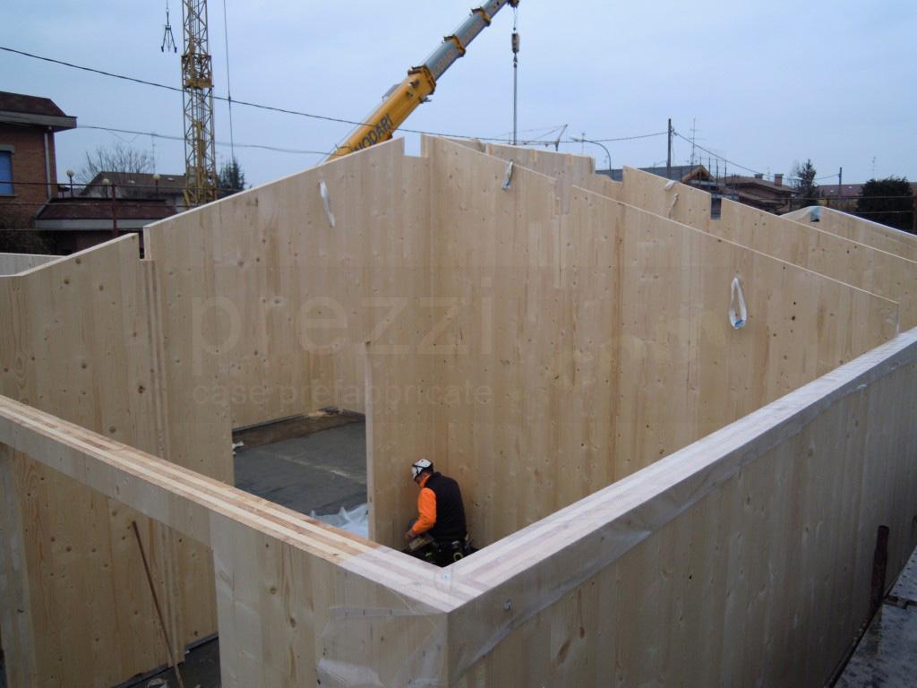 Case prefabbricate legno antisismiche in classe a3 in xlam for Case in legno xlam