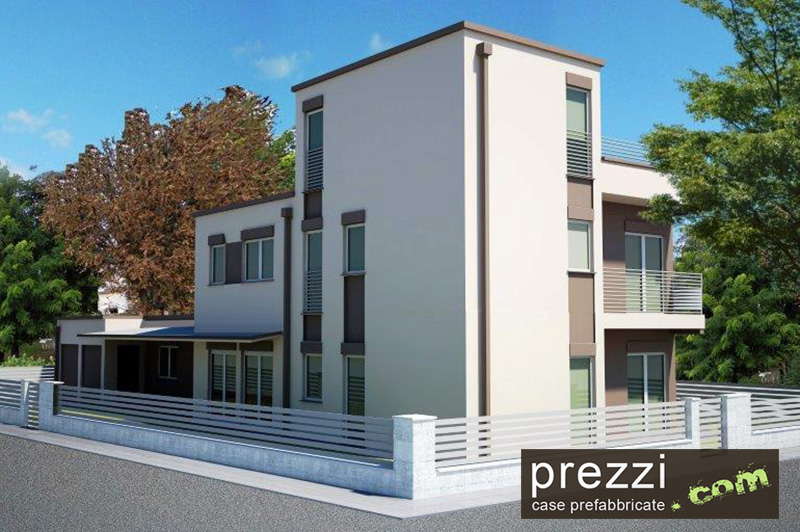 Case prefabbricate acciaio for Villa prefabbricata prezzi