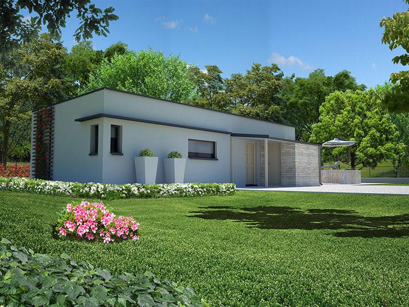 Case Moderne Ad Un Piano : Case moderne ad un piano esempi di progetti d di costruzione
