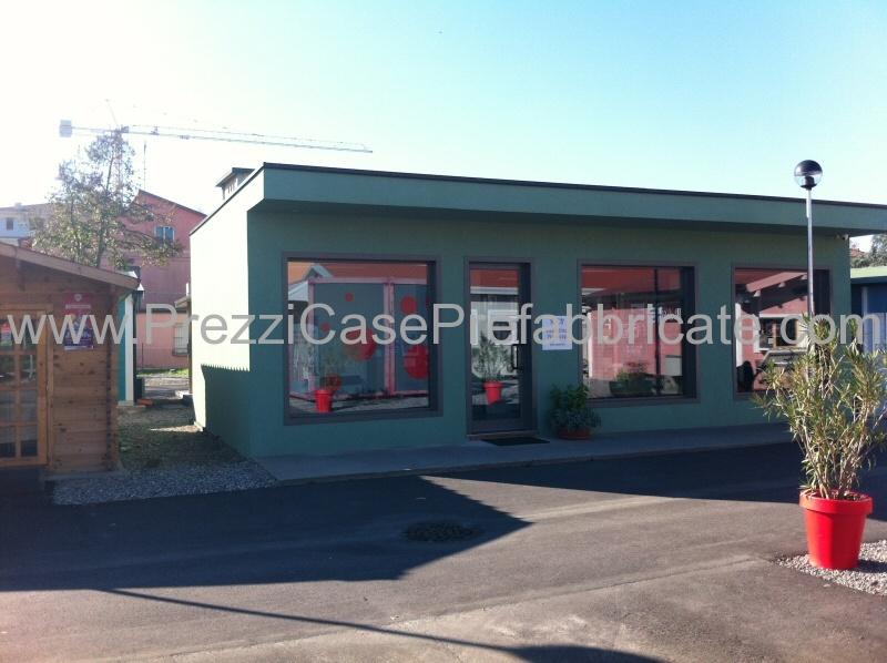 Negozi In Legno Prefabbricati : Edificio prefabbricato in legno e in muratura provincia modena