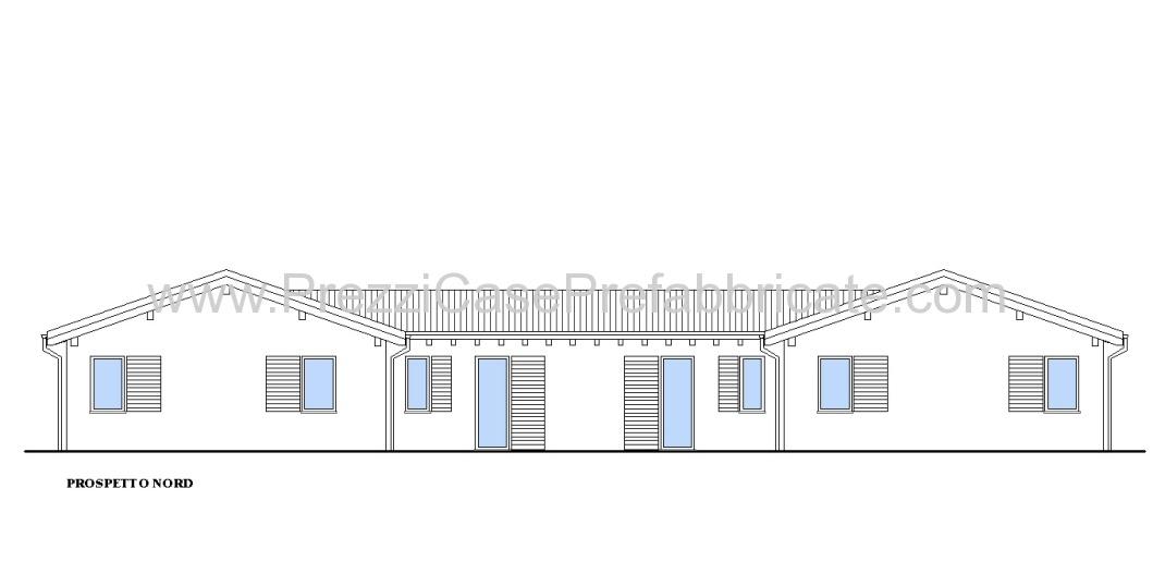 Case in prefabbricate costruzione legno prefabbricata for Piani di casa pre progettati