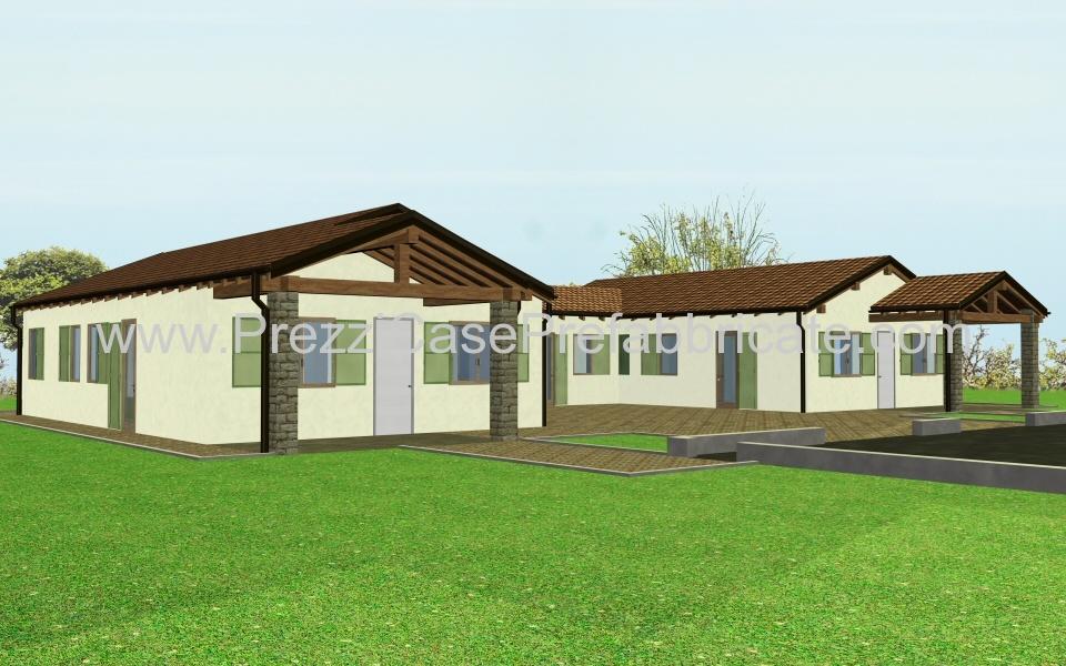 Case in prefabbricate costruzione legno prefabbricata for Listino prezzi case prefabbricate