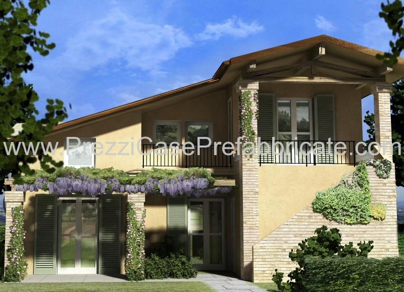 Ville prefabbricate casalegno casaclima casa passiva for Piani di hot house