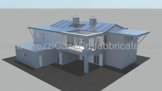 Casa prefabbricata Correggio render1