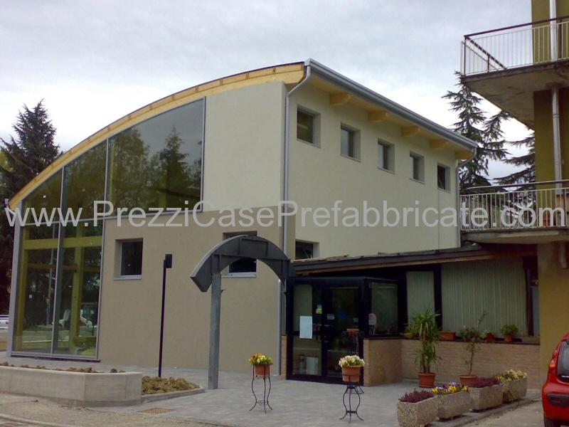 Ufficio In Legno Prefabbricato Prezzi : Prefabbricati in legno lamellare