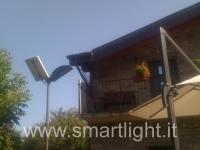 illuminazione solare smartlight colline parma