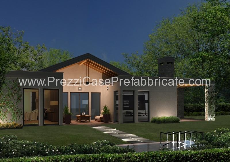 Case prefabbricate prefabbricati case vendita for Portico auto in vendita