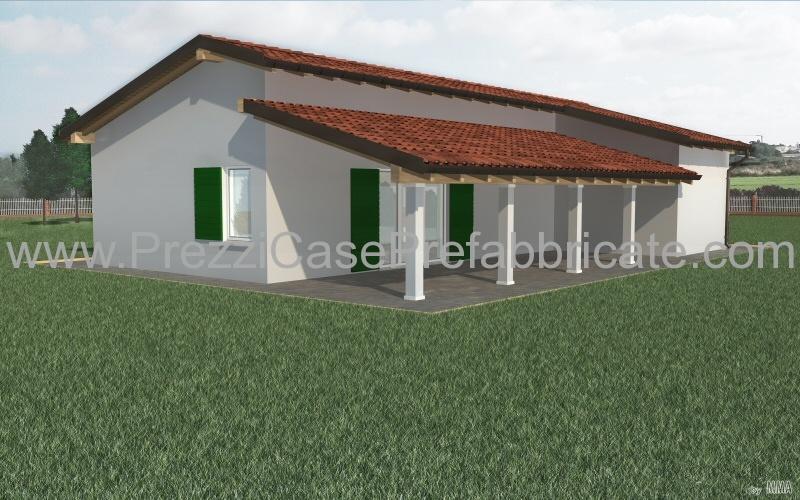 Prezzi case legno prefabbricate for Case prefabbricate in acciaio prezzi