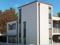 casa pefabbricata trifamiliare Novi di Modena