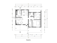 casa prefabbricata RC802VL pianta