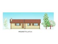 casa prefabbricata RC802VL prospetto A