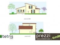 casa prefabbricata M17 Prospetti NE