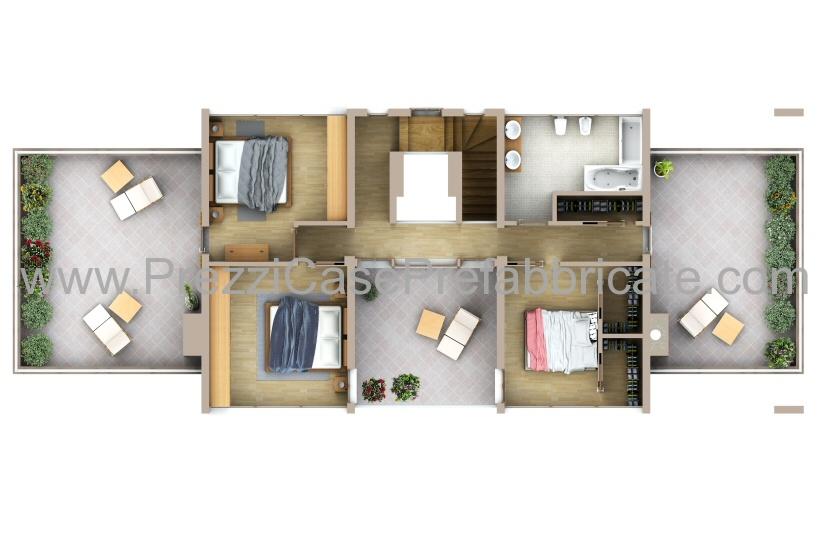 Case prefabbricate case passive case moderne casalegno - Progetto di casa moderna ...