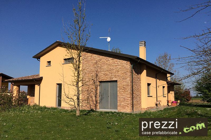 casa prefabbricata emilia Piacenza