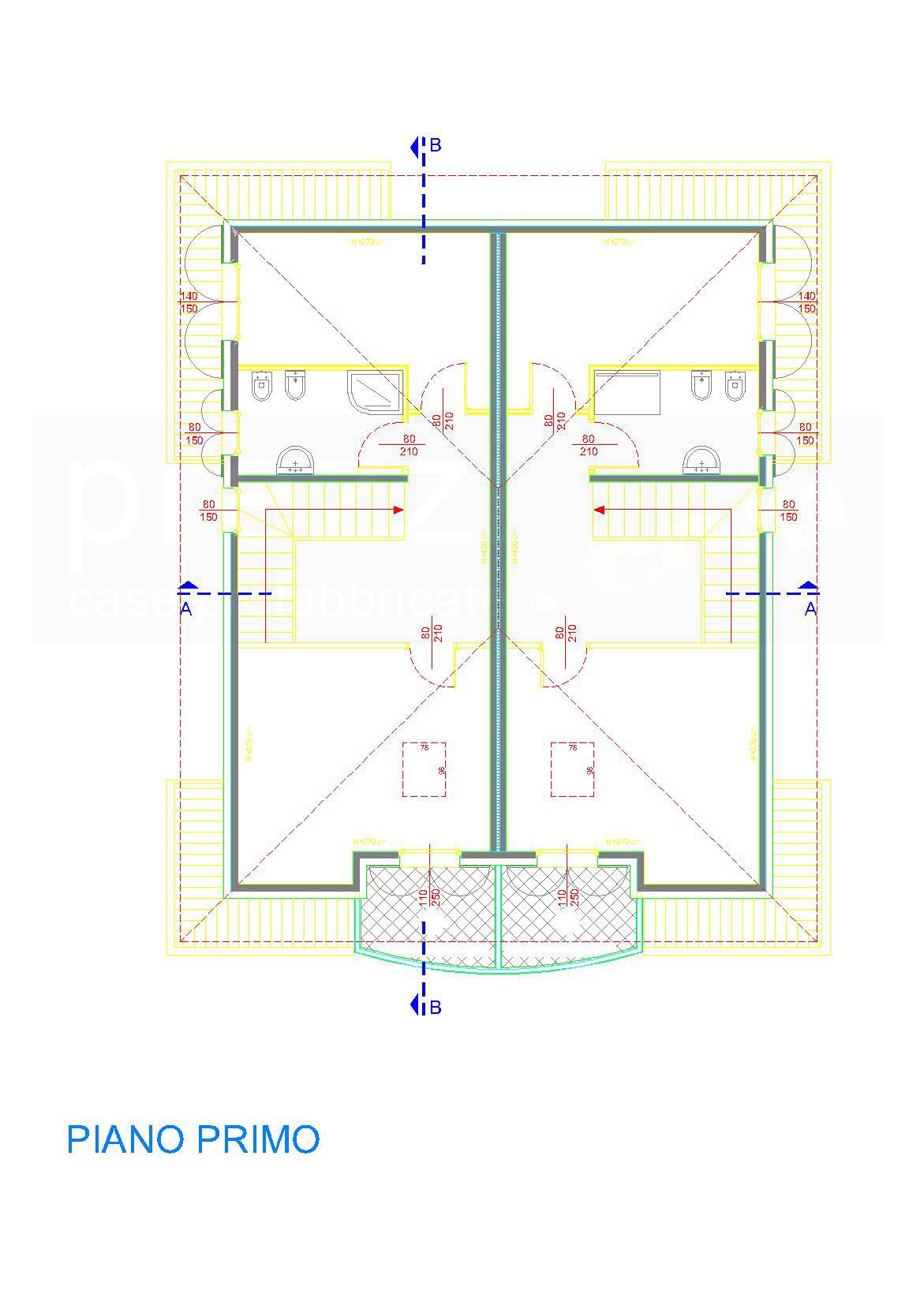 casa-S-pianta-piano-primo-WM Case prefabbricate legno Rovereto sulla Secchia, Modena