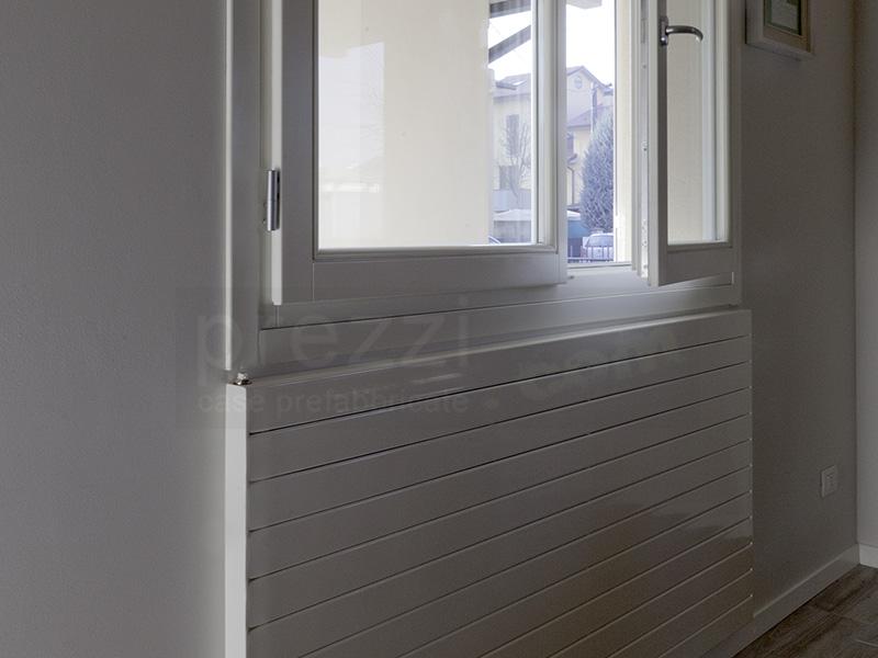 piastre-radianti-a-parete case prefabbricate Modena,  Rovereto sulla Secchia