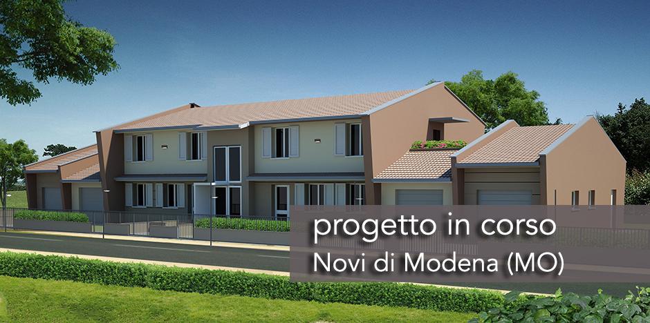 casa-prefabbricata-quadrifamiliare-SLIDE Casa prefabbricata quadrifamiliare Novi, Modena  - Progetti in Corso