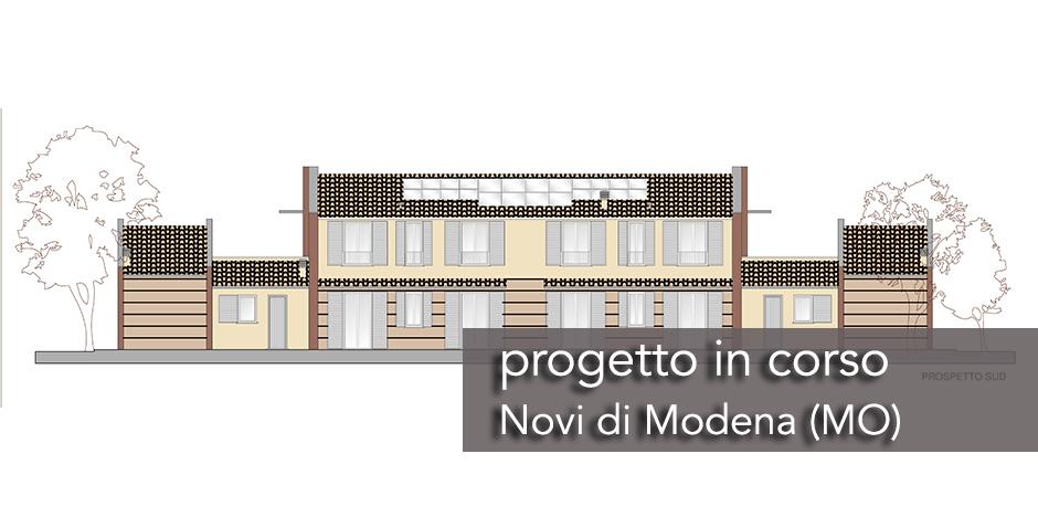 casa-prefabbricata-quadrifamiliare-SLIDE1 Casa prefabbricata quadrifamiliare Novi, Modena  - Progetti in Corso