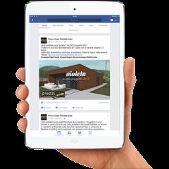 prezzi case prefabbricate facebook