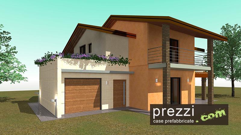 case prefabbricate progetti Beatrice casa prefabbricata in acciaio o legno chiavi in mano antisismica