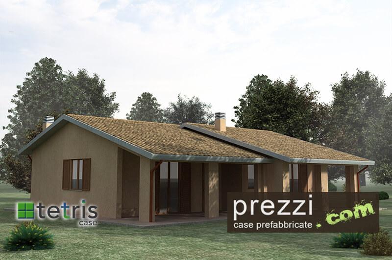 casa prefabbriata Tetris modello M21