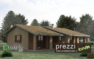 casa prefabbricata Tetris modello M21