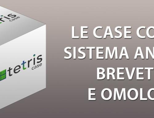 case prefabbricate antisismiche brevettate e omologate TETRIS