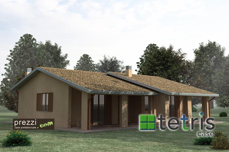Casa prefabbricata m21 in render for Case prefabbricate in acciaio prezzi