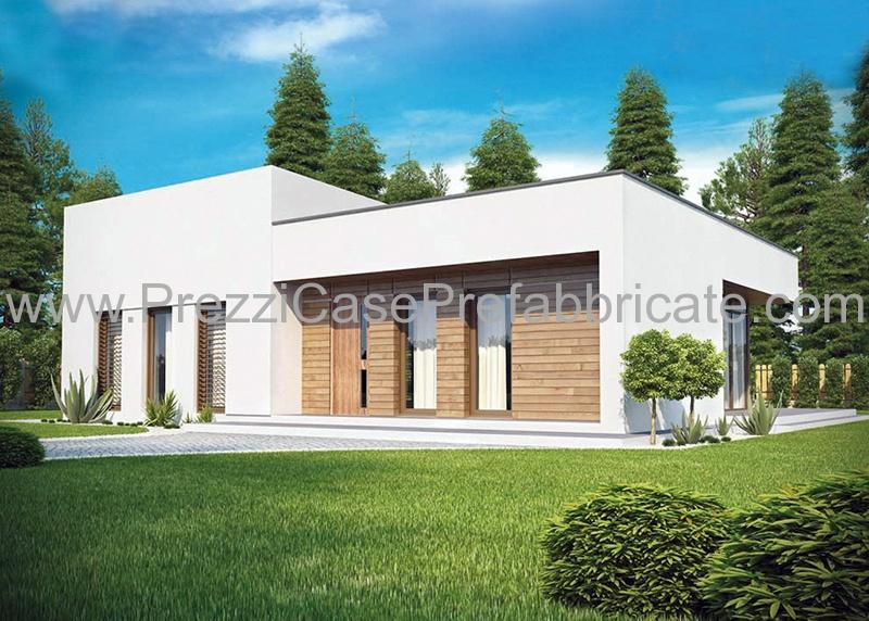 Casa prefabbricata acciaio vedra case prefabbricate for Piani casa moderna collina